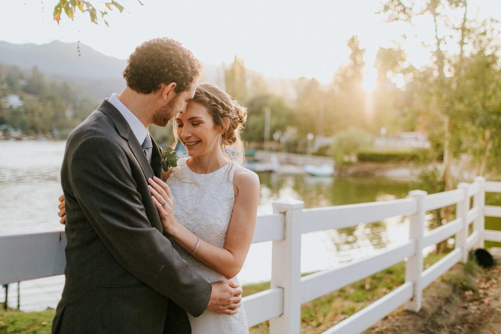 Wedding at The Lodge at Malibou bride